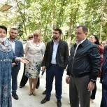 Игорь Брынцалов проверил ход реконструкции Дома культуры «Кучино» в Балашихе