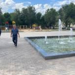Парк Победы в Питерке отремонтировали в рамках партпроекта «Городская среда»