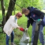Единороссы Лобни провели экологическую акцию