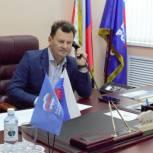 Роман Романенко провел дистанционный прием оренбуржцев