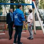 Жуковские единороссы проинспектировали качество ремонта детских площадок