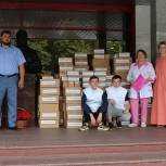 В городскую больницу им. В.М. Буянова передано 136 тысяч масок и 6500 антисептических средств