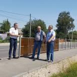 В Скопине отремонтировали тротуары