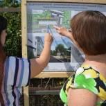 В Красненском районе состоялся рейд по объектам городской среды