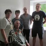 В Рязанском районе отремонтировали дом ветерану