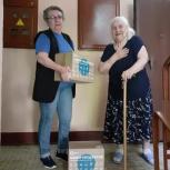Активисты Западного округа доставили одиноким инвалидам и пенсионерам больше двух тонн продуктов