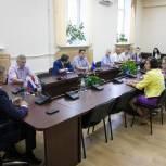 Владимир Жук встретился с кандидатами в депутаты городского совета Лыткарино