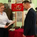 Активисты проекта «Историческая память» посетили музей воинской славы химкинской школы