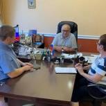 Единороссы городского округа Луховицы в ходе приемов жителей рассмотрели 10 вопросов