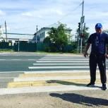 Единороссы Рузского отделения партии «Единя Россия» провели рейд по пешеходным переходам
