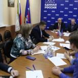 Активисты местных отделений партии «Единая Россия» проверили готовность площадок к написанию Диктанта Победы