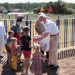 Детская площадка по мотивам сказки «Конек-Горбунок» появилась в Аромашевском районе