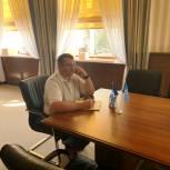 Дмитрий Ханенко ответил на вопросы саратовцев во время приема граждан