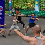 В Химках «Единая Россия» отметила день физкультурника открытой тренировкой