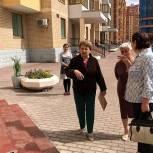 Депутат-единоросс Валентина Панина провела мониторинг состояния придомовых территорий Реутова