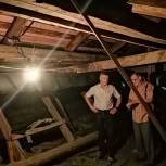 Депутат помог сделать теплоизоляцию системы отопления в старом саратовском доме