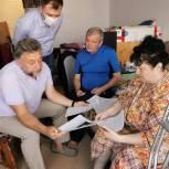 Олег Жолобов посетил семью инвалида детства по слуху на территории городского округа Домодедово