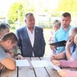 Перспективы Жуковки обсудили на встрече жителей с депутатом