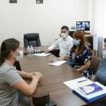 Депутат Госдумы Светлана Бессараб провела прием граждан по личным вопросам в Крымском районе