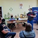 Михаил Диктованный провел «Урок доброты» в Сергиевом Посаде