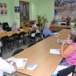Люберецкие единороссы провели встречу с председателями первичных ветеранских организаций