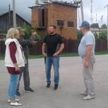 Депутаты-единороссы оценили качество ремонта тротуаров в Кадоме