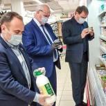 Партийцы проверили соблюдение правил торговли в двух супермаркетах Одинцово