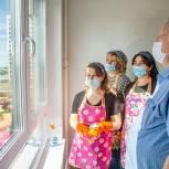 Одинцовские единороссы помогли ветерану с переездом в новую квартиру