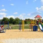 В селе Дегтяное по инициативе жителей обустроили спортивно-игровую зону