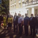 Единороссы проверили готовность королёвских школ к предстоящему учебному году