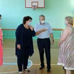 В Рязанском районе проверяют готовность избирательных участков