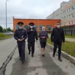 В Сыктывкаре проверили безопасность дорог к школе №36 и новой школе в Орбите