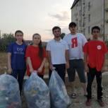 Активисты МГЕР Дагестана провели субботники в Избербаше и Чародинском районе