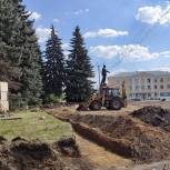 В Сасове начали благоустройство исторической части города