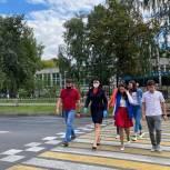 В Балашихе проверили пешеходные переходы у школ