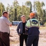 Депутат Дмитрий Никулин продолжает работу  по мониторингу программ развития Тегульдетского района