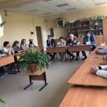 Партийный час прошел в территориальном управлении Жаворонковское Одинцовского городского округа