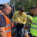 Качество нового дорожного покрытия в Балашовском районе проверит независимая лаборатория