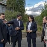 В Мурманске комиссия оценила ремонт дворовой территории