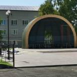 Новая эстрада и благоустроенная площадь украсят центральную часть поселка Новые Бурасы