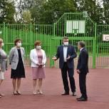 Занятия физкультурой в школе №21 будут проходить на новой спортплощадке