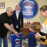 Луховицкие единороссы поддержали благотворительную акцию «Собери ребенка в школу»