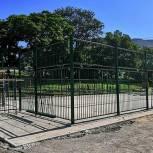 Новые спортивные объекты возводятся на территориях школ Дальнегорска