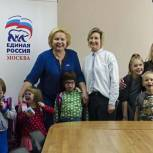Акция «Собери ребенка в школу» охватила 315 детей из Южного округа