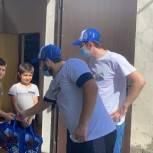 Молодогвардейцы Дагестана провели благотворительную акцию «Собери ребёнка в школу»