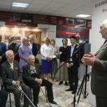 В честь победителей в год 75-летия Великой Победы обновлённый зал ступинского музея встретил первых посетителей