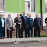 В День знаний новая школа открылась в Казарово