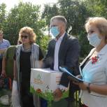 Акция «Забота» прошла в Руднянском районе