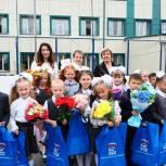 Ольга Швецова поздравила учеников Богандинской школы №1 с началом учебного года