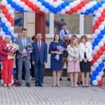Члены фракции «Единая Россия» Щелковского совета депутатов поздравили учеников с началом учебного года